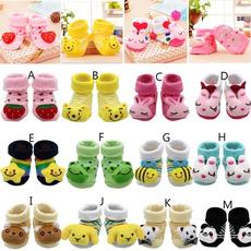Shoes, cartoonsock, Cotton, prettybabywear