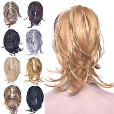 ponytailextension, hair, Moda, lacefronthumanhairwig