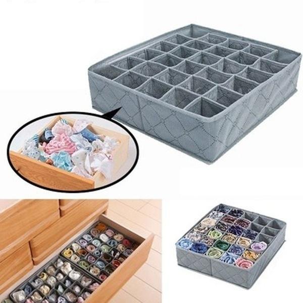 Box, Charcoal, Underwear, Storage