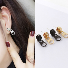 Funny, Fashion, simpleearring, Zip