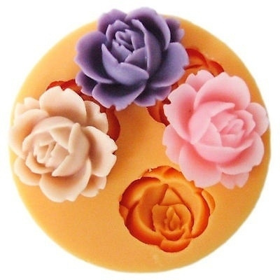 Decor, Flowers, Baking, fondantmold