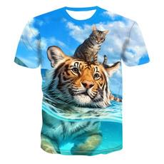 Summer, Shorts, unisex, summer t-shirts