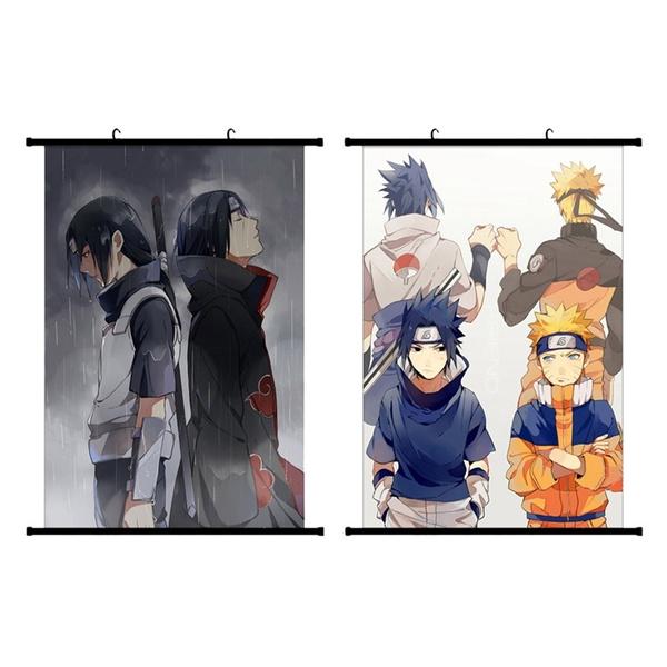 uchihasasuke, Anime & Manga, Wall Art, Home Decor