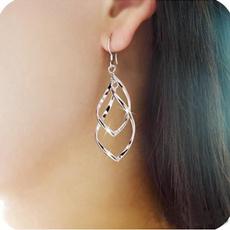Hoop Earring, Dangle Earring, Joyería de pavo reales, Earring
