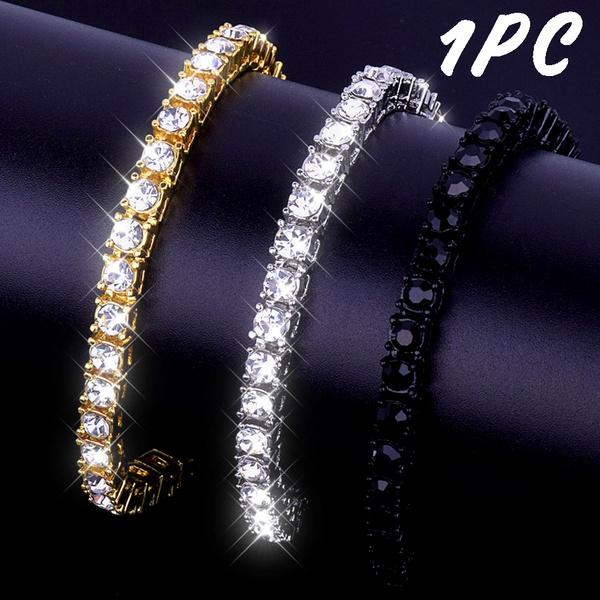 hip hop jewelry, Men's Fashion, Chain, Men Bracelet