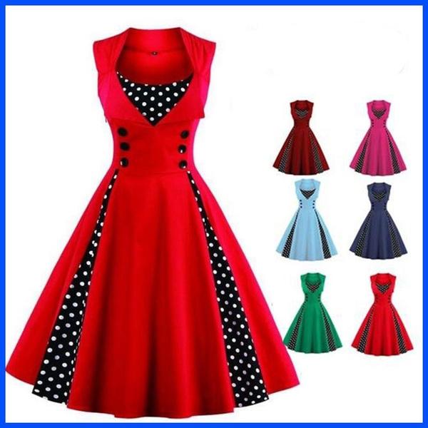 Swing dress, Fashion, Vintage Dresses, swingdresses50
