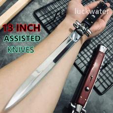 stilettoknife, pocketknife, assistedopeningknive, Folding Knives