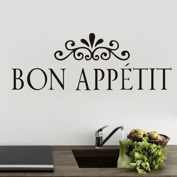 cuisine, Flowers, Wall Art, stickersampvinylart