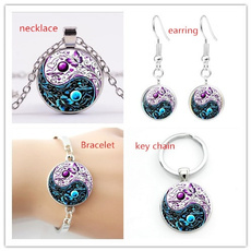butterfly, yinyangnecklace, Jewelry, Chain