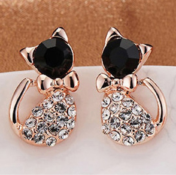 bowknot, Jewelry, Gifts, Stud Earring