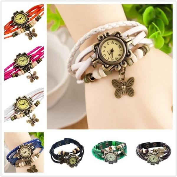 butterfly, Bracelet, Jewelry, fashion watches