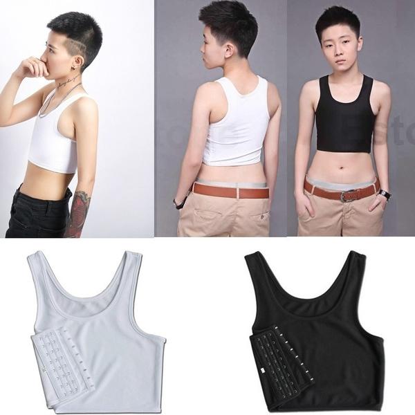 Vest, breastbinder, chest binder, Tops