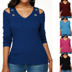 blouse, strapless, Plus size top, long sleeve blouse