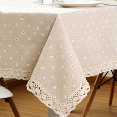 tablemat, Flowers, homeampoffice, Lace