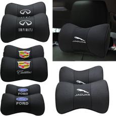 headrest, carneckpillow, leather, Cars