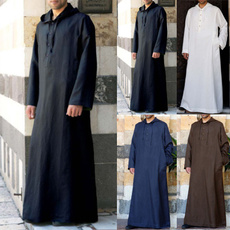 hooded, kaftan, Muslim, arab