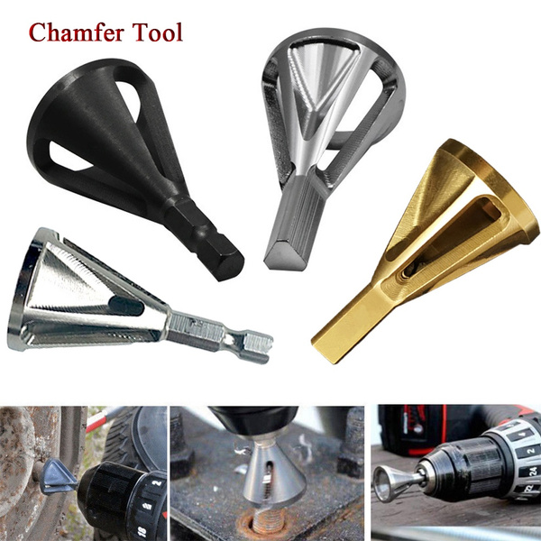 Damaged Bolts Remove Burr Tools External Chamfer Bit TOP Deburring Drill