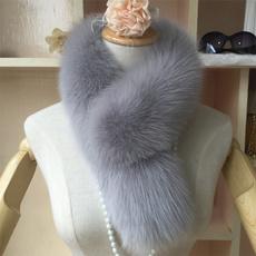 coatcollar, Fur scarf, women scarf, neckwarm