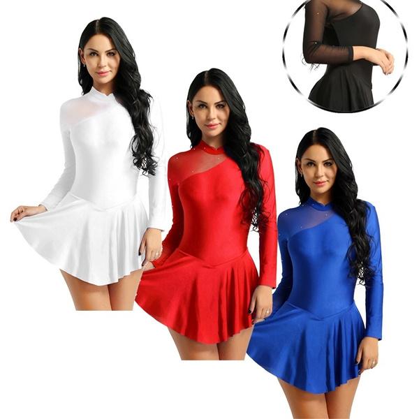 dancewear, womens dresses, pleated dress, Sleeve