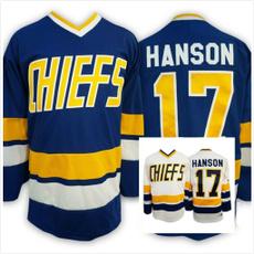 hansonbrother, Hockey jersey, Movie, Jerseys