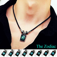Men  Necklace, Jewelry, Gifts, leather