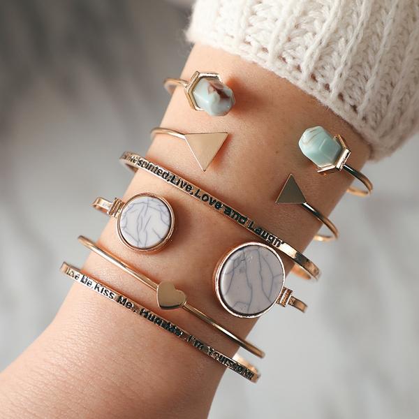 openbracelet, Heart, turquoisebracelet, Love