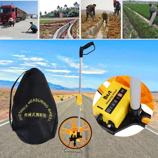 Foldable, mechanicaldistance, roadmeter, measurer