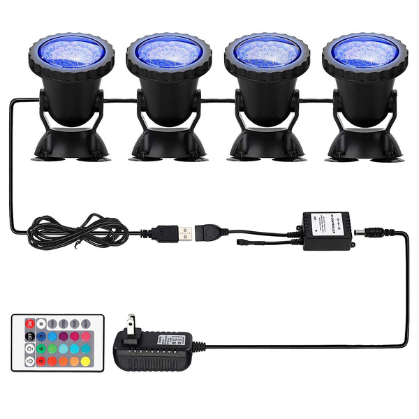 underwaterspotlight, underwaterlamp, lights, ledaquariumlight