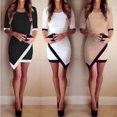 Mini, Shorts, Sleeve, pencil