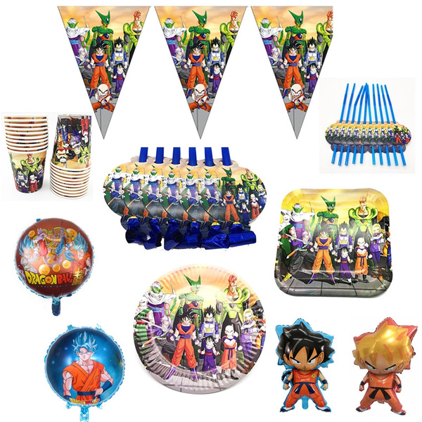 Japanese Anime Dragon Ball Z Party Decorations For Event Festive Kids Birthday Party Supplies Wish