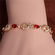 goldplated, Heart, Fashion, Jewelry