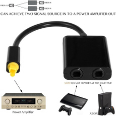 Splitter, Fiber, Cable, Adapter