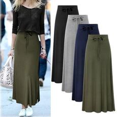 summer skirt, womenhighwaistskirt, high waist, ladyskirt