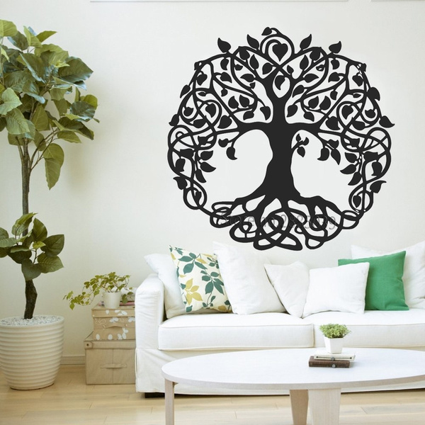 Home Decor, Stickers, vinyl sticker, sacredtree