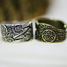 adjustablering, amuletring, Mens Ring, Jewelry