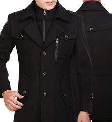 woolen, Chaqueta, Moda masculina, trenchcoatformen