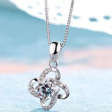 clavicle  chain, Fashion, leaf, Jewelry