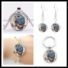 Beautiful, Owl, Chain Necklace, Key Chain