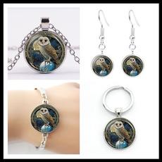 Owl, Chain Necklace, Key Chain, Jewelry