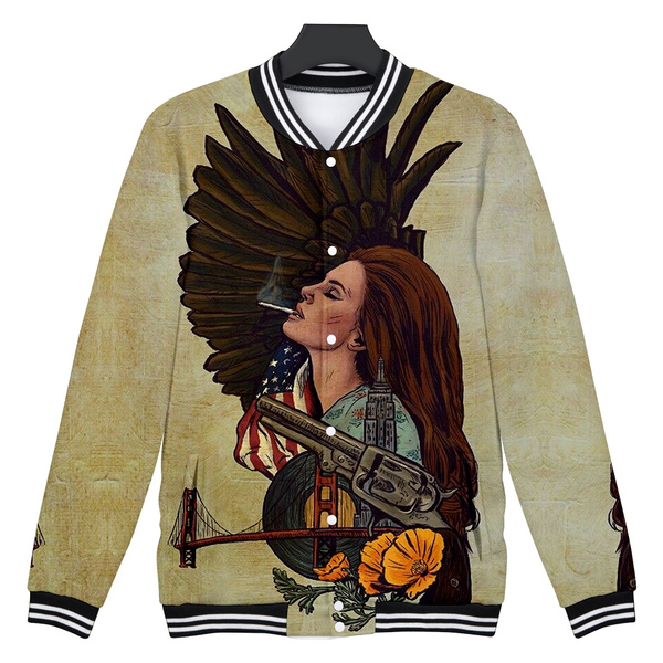 Lana Del Rey 3d Jacket Hiphop Fashion And Cool Hiphop Cartoon Printing Women Men Jacket And Jersey Wish