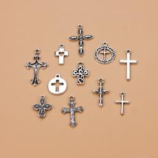 Necklace, diyjewelry, crosscharm, Key Chain