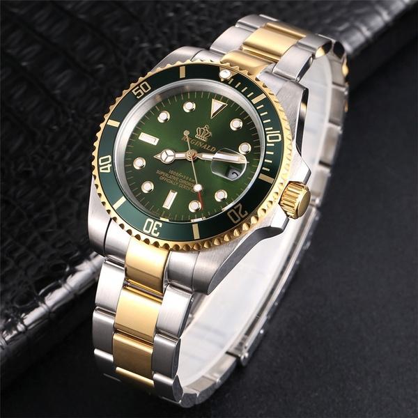 man's fashion watch, Fashion, Jewelry, gold
