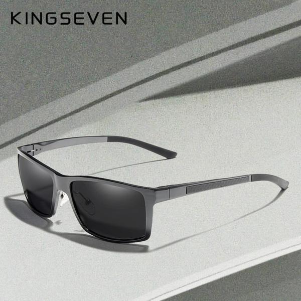 Metal Aviator Sunglasses, Fashion, Aluminum, UV Protection Sunglasses