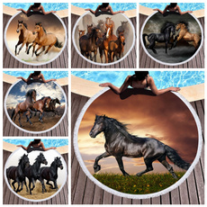 Summer, horse, Swimming, outdoortowel