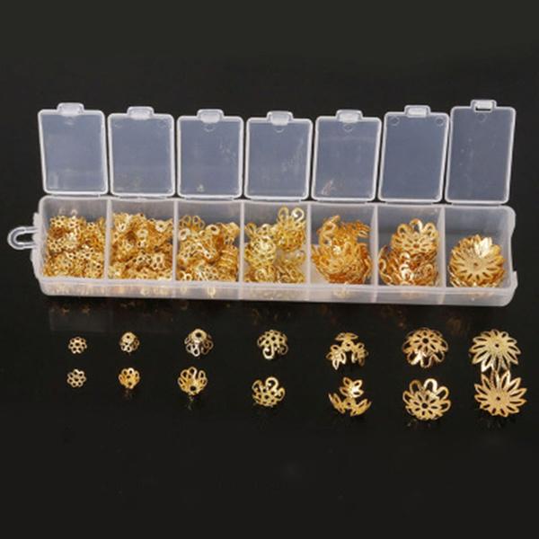Jewelry, Accessories, flowershaped, beadscap