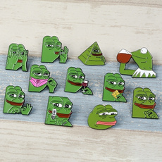 meme, Funny, frogbrooch, pepethefrog