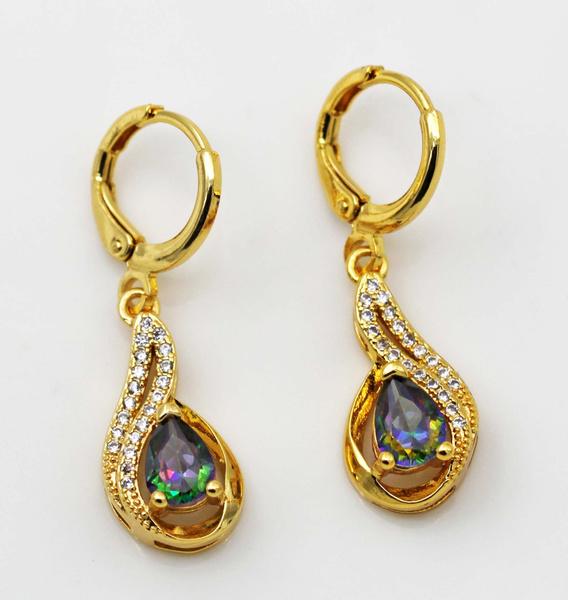 yellow gold, Girlfriend Gift, 18kgpjewelry, Jewelry