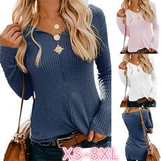 Fashion, Shirt, Women Blouse, Long Sleeve