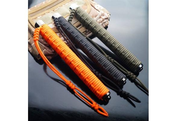 "26/"" long flexible Defense stick elastic stainless stick martial arts stick"