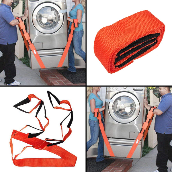 Appliance Mover Furniture Mover Lifting and Moving Straps Shoulder Strap Orange OneLina Efficiently Set of Straps for 2 Lift and Move Heavy Bulky Objects Safely